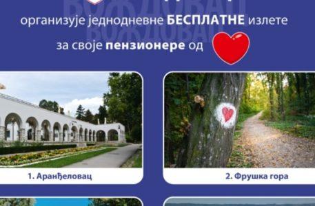 BESPLATNI IZLETI ZA NAŠE PENZIONERE: Za najstarije sugrađane opština Voždovac spremila veliko iznenađenje