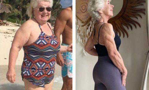 POSTALA JE INSPIRACIJA MNOGIM ŽENAMA: Sa 70. godina je posetila lekara i odlučila da promeni svoj život, a evo kako danas izgleda!