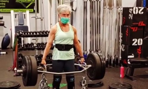 KOD NJE SU GODINE SAMO BROJ: U 71-oj vežba šest sati dnevno i diže tegove! (VIDEO)