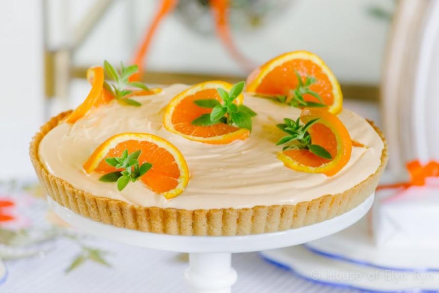 ORANŽ KREM TART: Predivni ukus koji osvežava